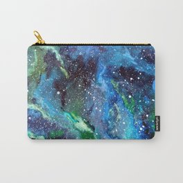 Galaxy (blue/green) Carry-All Pouch