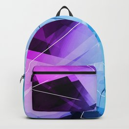 Reflections - Geometric Abstract Art Backpack