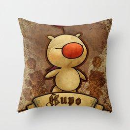 Kupo - Moogle Throw Pillow