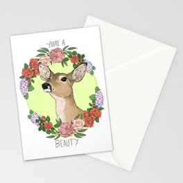 You're A Deer Stationery Cards