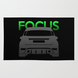 Ford Focus RS Rug