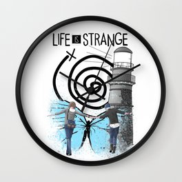 Life Is Strange - Partner In Time Wall Clock