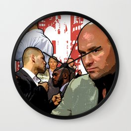 UFC Fight Empire Wall Clock