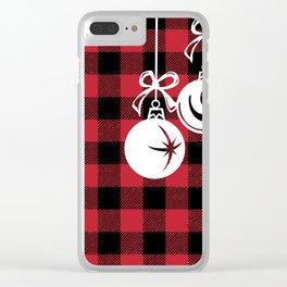 Buffalo Balls Clear iPhone Case