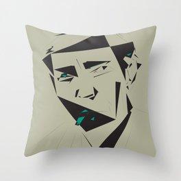 Julio Cortazar Throw Pillow