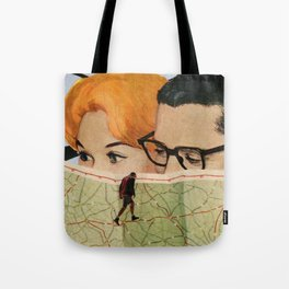 again, on the road Tote Bag