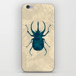 Original Camouflage Pattern Scarab Beetle iPhone Skin