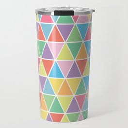 Summer Triangles Travel Mug