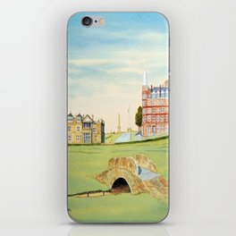 St Andrews Golf Course 18th Hole iPhone Skin
