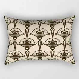 Seamless antique pattern art deco stylish print Rectangular Pillow