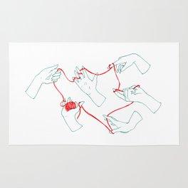 Fil rouge Rug