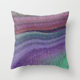 Broken Colors Throw Pillow