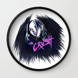 CRUSH'D Wall Clock
