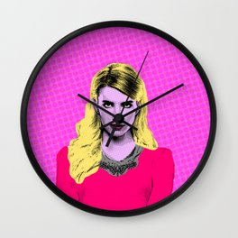 Scream Queens - Meet the Chanels  Wall Clock