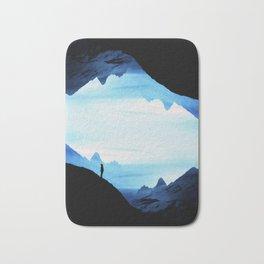 Blue Wasteland Isolation Bath Mat