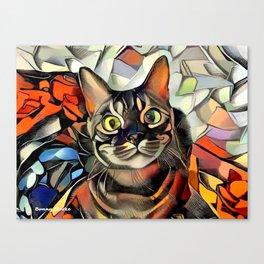 Hooman Spoil Me! Canvas Print