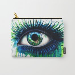 -The peacock- Carry-All Pouch
