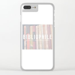 Bookaholic. Clear iPhone Case