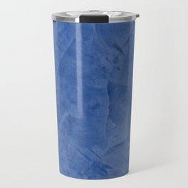 Light Blue Stucco Travel Mug