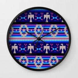 American Native Pattern No. 119 Wall Clock