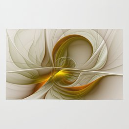 Abstract With Colors Of Precious Metals 2 Rug