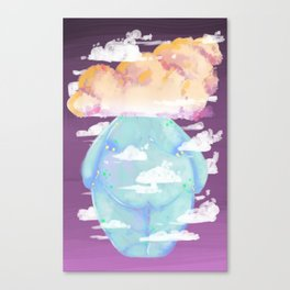 Brain Fog Canvas Print