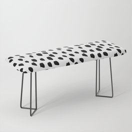 Hand drawn drops and dots on white - Mix & Match with Simplicty of life Bench