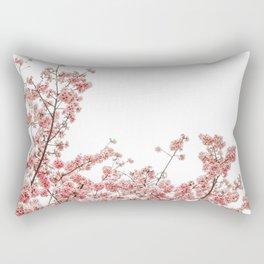Cherry Blossoms (Color) Rectangular Pillow