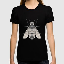 Bee pencil drawing T-shirt