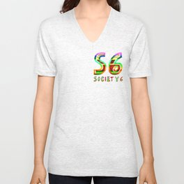 S6 Tee 3 by dabnotu Unisex V-Neck