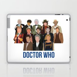 Doctor Who Through the Years Laptop & iPad Skin