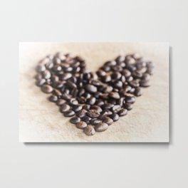 Coffee Love Metal Print
