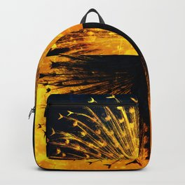 Peacock - Mad Men inspired Backpack