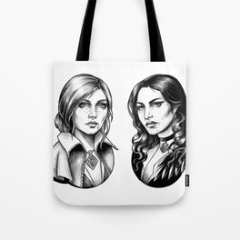 Yennefer and Triss Tote Bag