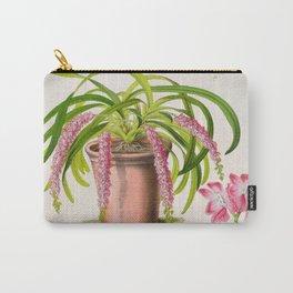 Aerides Affine Var Roseum Vintage Botanical Floral Flower Plant Scientific Carry-All Pouch
