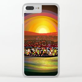 Harbor Square Clear iPhone Case