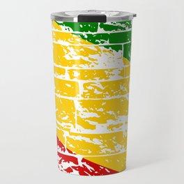 Rastafari Flag Travel Mug
