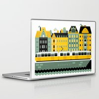 budapest Laptop & iPad Skins featuring Budapest by koivo