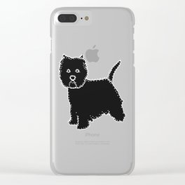 I have Connected the WESTIE Doggy Dots! Clear iPhone Case