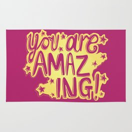 You Are Amazing Rug