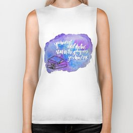 "illuminae ""you have me"" watercolor bubble galaxy Biker Tank"