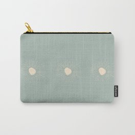 Sun Line Drawing Carry-All Pouch