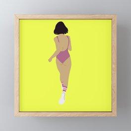 Moving Forward Framed Mini Art Print