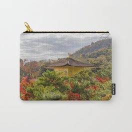 Fall Colors and Gold Carry-All Pouch