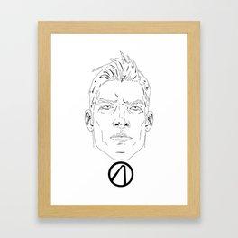 Axton Framed Art Print