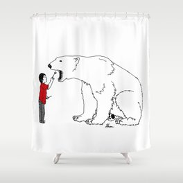 The Checkup Shower Curtain