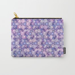 Botanical In Blue Carry-All Pouch