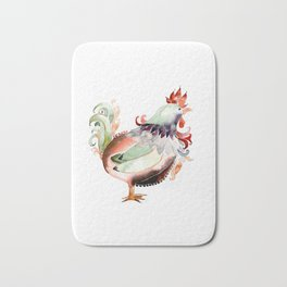 Big Rooster Bath Mat