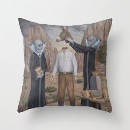 The Coronation Throw Pillow