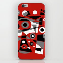 Abstract #908 iPhone Skin